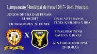 Centro será palco da final do campeonato de futsal