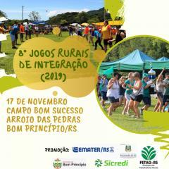 Comunidades se preparam para a 8ª edição dos Jogos Rurais