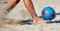 Terça de quartas-de-finais na areia