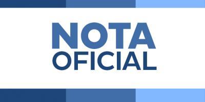 Nota oficial - Educação